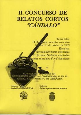 II. CONCURSO DE RELATOS CORTOS