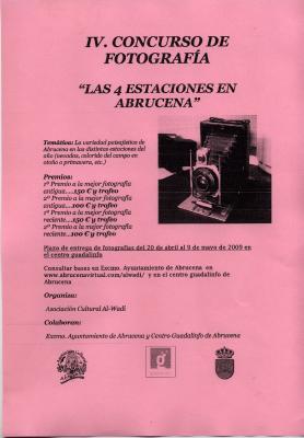 IV.CONCURSO DE FOTOGRAFIA