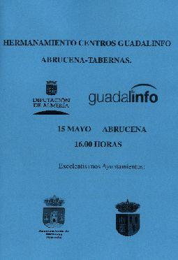 Hermanamiento Centros Guadalinfo Abrucena-Tabernas.