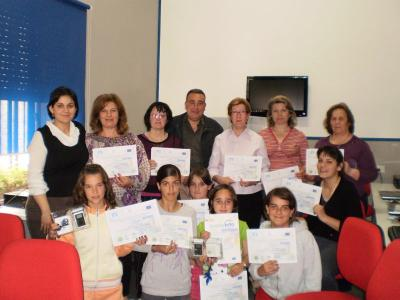 Entrega de Diplomas en el Centro Guadalinfo de Abrucena