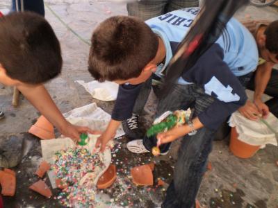 Juegos y Cucañas para los niños